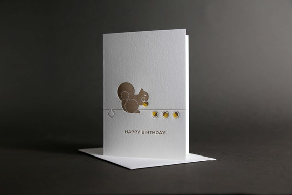 Squirrel Birthday