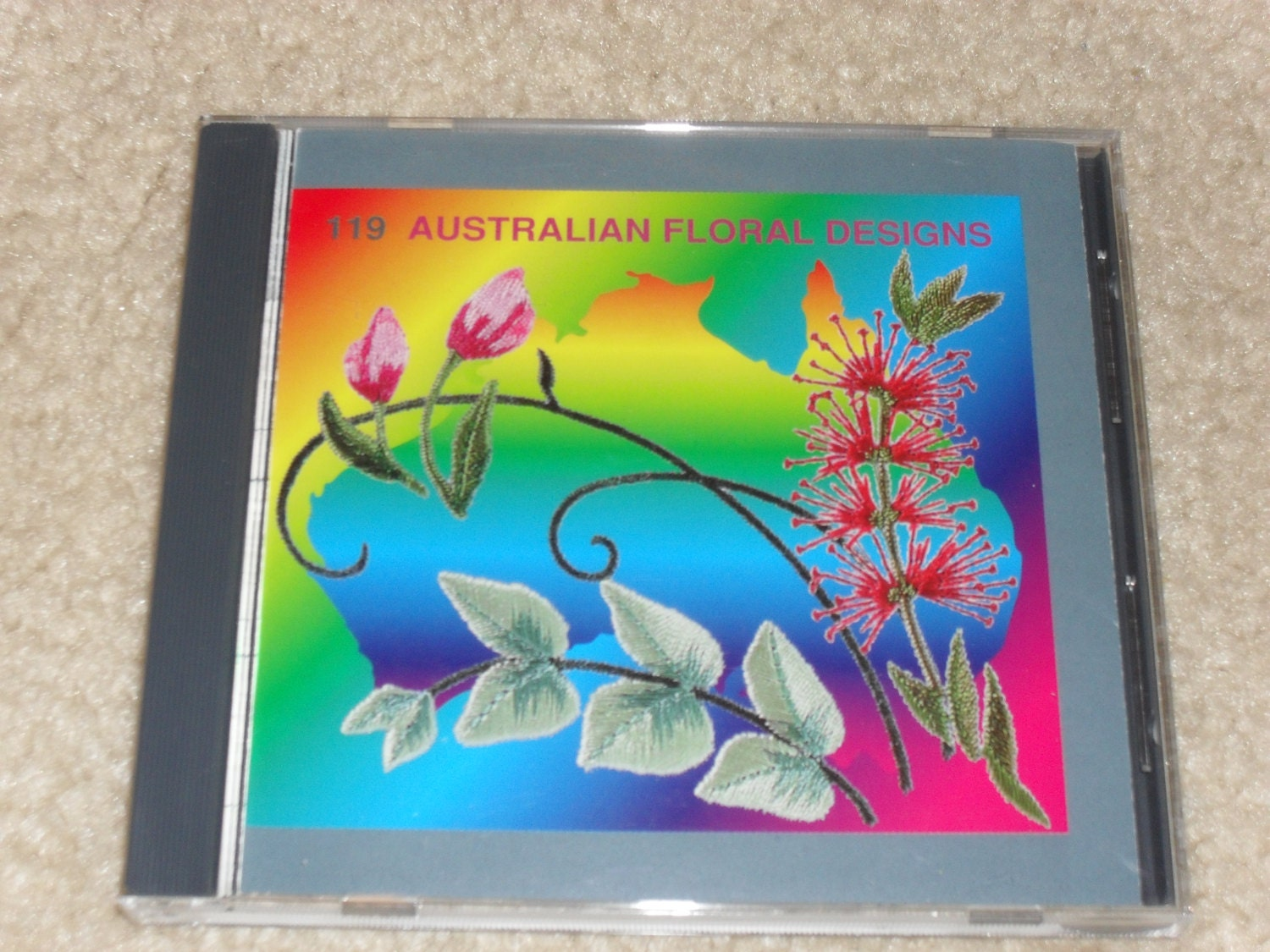 Janome memory card 119 australian floral designs for Janome memory craft 9000 problems