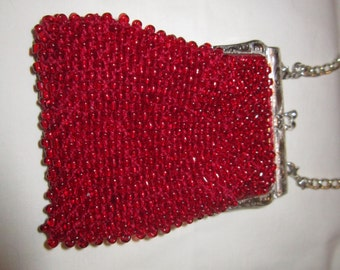 Cell Phone Beaded Bag