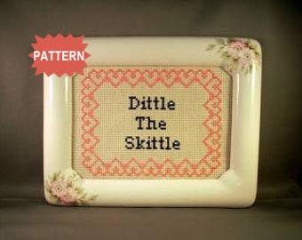PDF/JPEG Dittle The Skittle (Pattern)