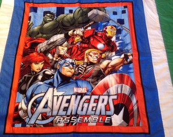 Avengers quilt for Toddler bed