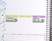 Kids Soccer Sticker Printable - Instant Download - Planner Stickers