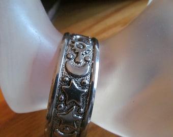 moon star cuff bracelet
