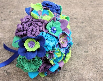 "16 Stem ""Felt So Pretty""  Felt Bouquet"