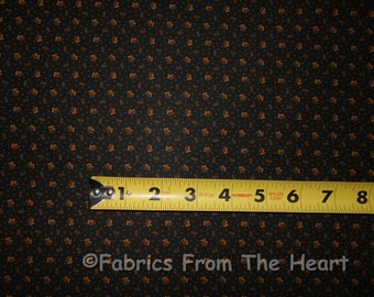 Shades Apart Tan Gold on Black 1261-4 BY YARDS  RJR Quilt Cotton Fabric