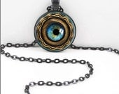 Steampunk Necklace, Steampunk Pendant, Steampunk Bohemian Gypsy Jewelry RW273