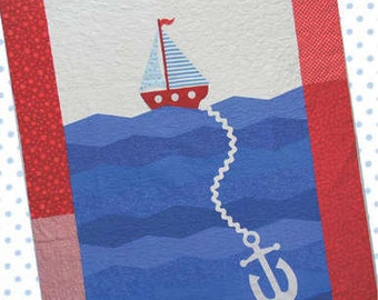 PATTERN ANCHORS AWAY Quilt pattern
