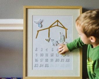 Advent Nativity Calendar for Children