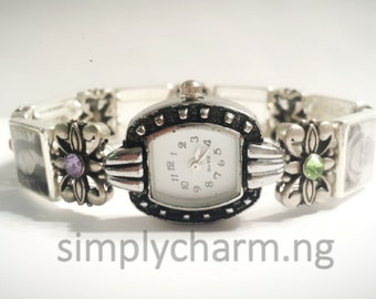 Custom Photo Watch Bracelet