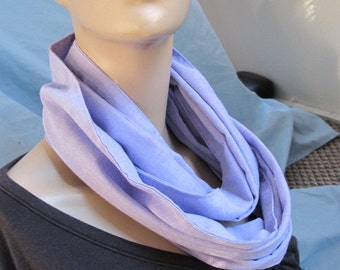 SALE - Beautiful Lilac Cowl/Circle Scarf/Infinity Scarf (4429)