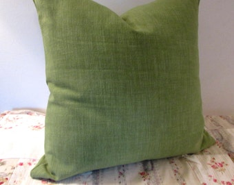 GREEN decorative designer pillow cover 18x18 20x20 22x22 24x24 26x26