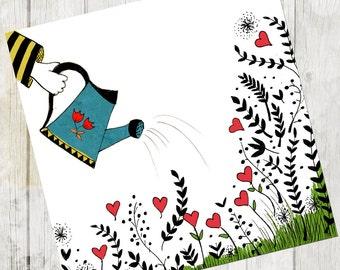Love - Print - 8 x 11,5 - A4