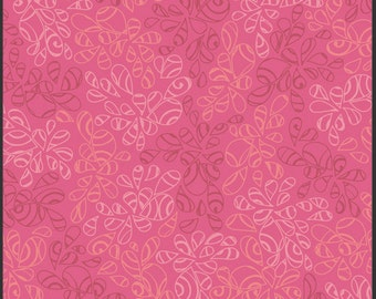 Art Gallery • Nature Elements • Hot Pink • Cotton Fabric 0.54yd (0.5m) 002053