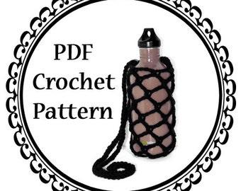Water Bottle Sling PDF Crochet Pattern