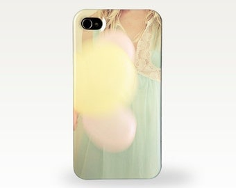 Portrait and Balloons Phone Case for iPhone 4/4s, 5/5s, 5c, 6, 6 Plus and Samsung Galaxy S3, S4 - Far Away
