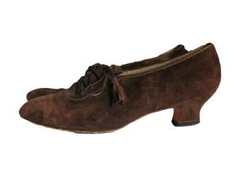 FERRAGAMO KITLY lace up shoes, 7 - 7.5