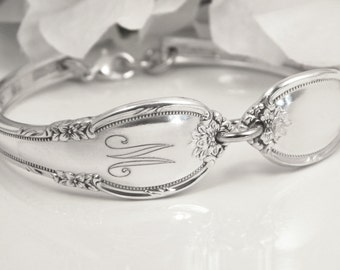 Spoon Bracelet, PERSONALIZED Spoon Bracelet, Spoon Jewelry, Silverware Bracelet