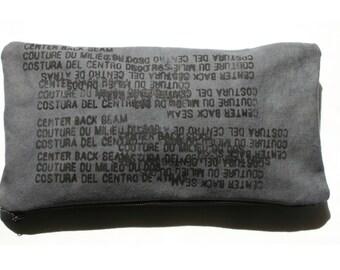 Clutch Handbag Pouch, Fashion Accessories, Edgy Text Printed Purse
