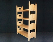 Stackable Heart Quad Bunk Bed Four American Girl Stacking Beds Wooden Quadruple