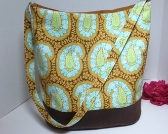 Bonnie Bag Swoon - Amy Butler fabric Bag - Hobo Amy Butler - Bucket Bag - Amy Butler Purse