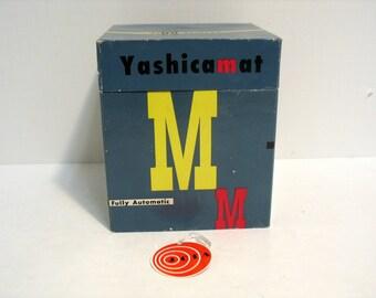 Vintage Yashicamat Camera Box only Yashica Mat M Fully Automatic Camera Box
