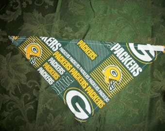 Green Bay Packers Dog Scarf Medium