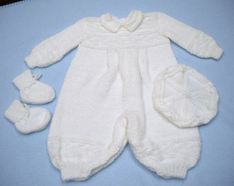 Baby Boy's Babtism Outfit