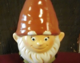Hand Painted Ceramic Boy Garden Gnome