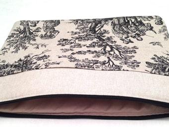 iPad air padded sleeve /iPad air case / iPad air 2 cover/iPad air 2 sleeve/Made in Maine/ designer sleeve