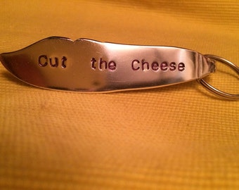 Personalized Pate Knife Key Chain