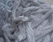 Custom Order-Shetland/silk roving-8 oz