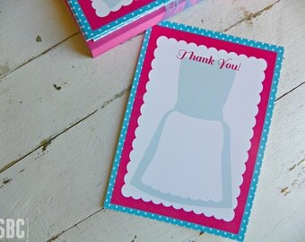 Cooking/Baking Thank You Notes...Set of 10 Thank You Notes
