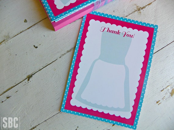 Thank You For Baking: Cooking/Baking Thank You Notes...Set Of 10 Thank You Notes