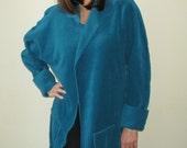 """Basia's PROVOCATEC """"She Wore Blue Velvet"""" Plus Size Jacket  - FREE US Shipping"""