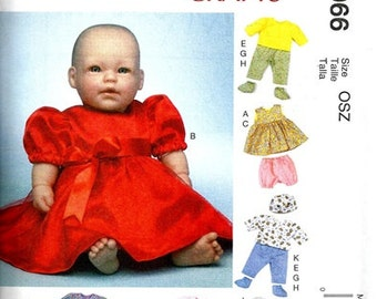 DOLL CLOTHES PATTERN - Sew Clothes for Bitty Baby - Bitty Twins and Baby Dolls