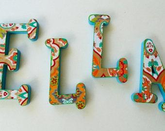 Ella, Nursery Wall Name, Wall name