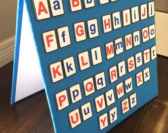 Alphabet Felt Board Set -includes 52 letters (upper & lower case) Preschool Education