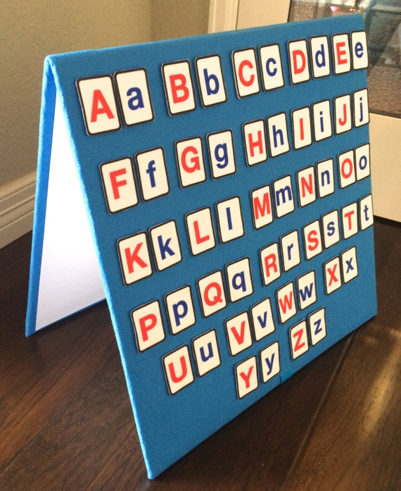 Alphabet felt board set includes 52 letters upper lower for Flannel board letters