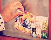 tiny art prints - wash line poetry