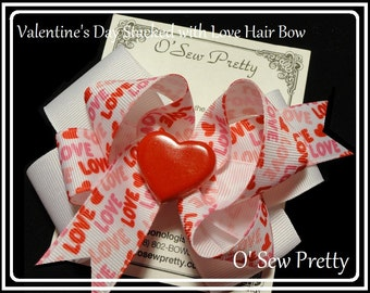 Valentine's Day Hair Bow's,