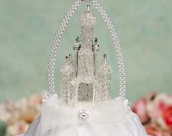 Cinderella Castle Cake Topper with Arch - 100673