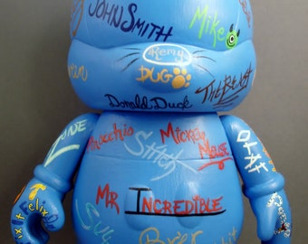 "Princes and Heroes Autograph 9"" Custom Vinylmation"