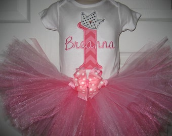 Boutique Birthday Princess Tutu set