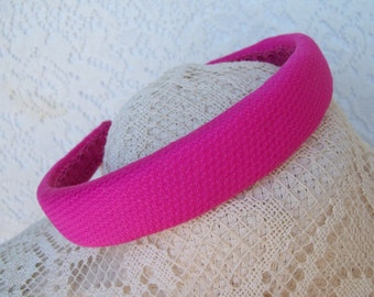 Fushia Headband