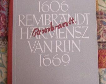 Vintage Eberhard Hanfstaengl Rembrandt German Art Reference Book