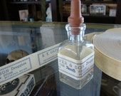 Dozen Beautiful Unique Antique Medical Druggist Pharmacy Gummed Labels