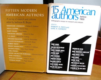 American Authors   31 Scholarly Essays   2 vols. Poets. Novelists. Dramatists. American Literature. American South. Bibliography. Biography.