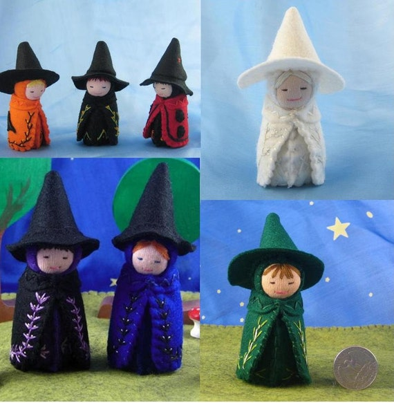 MADE TO ORDER Witch Doll-- Waldorf Inspired