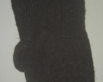New Warm and Soft Hand Knit Wool Socks (11.0 inches length)