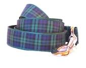 Black Watch Tartan Large Dog Leash 5'